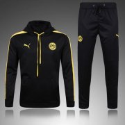 Dortmund Jersey 2017/18 Black Hat Sweater Uniform
