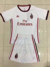 AC Milan Jersey 2017/18 Away Soccer Kids Kit
