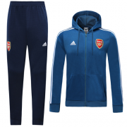 Arsenal 2019-20 Blue Hoody Training Suit