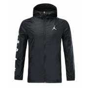 2019-20 Air Jordan Black Jacket WindRunner