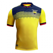 2019 Ecuador Home Yellow Soccer Jersey Shirt