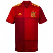 Spain 2020 Euro Home Red Soccer Jersey Shirt