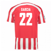 Athletic bilbao Jersey 2016/17 Home Soccer Shirt #22 Garcia