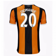 Hull City Jerseys 2016/17 Home Soccer Shirt #20 Diomande