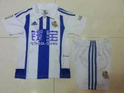 Real Sociedad Jersey 2015/16 Home Soccer Shirt Kids Kits