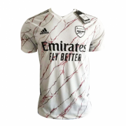 20-21 Arsenal Away White Soccer Jersey Shirt (Player Version)