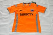 Colo-Colo Jersey 2015/16 Away Orange Soccer Shirt