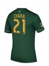 Portland Timbers Jersey 2017/18 Home Soccer Shirt #21 Chara