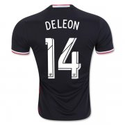 DC United 2016/17 Home Soccer Shirt Jersey #14 Deleon