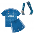 Kids Juventus 2019-20 Blue Soccer Kit(Jersey+Shorts)