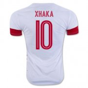Switzerland Jerseys 2016 Away Soccer Shirt #10 Xhaka