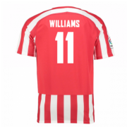 Athletic bilbao Jersey 2016/17 Home Soccer Shirt #11 Williams