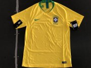 Brazil 2018 World Cup Home Soccer Jersey(Player Version)