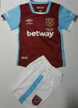 West ham Youth Jersey 2016/17 Home Soccer Shirt Kids Kit