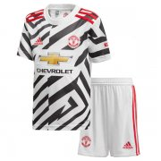 Kids Manchester United 20-21 Third Soccer Kit(Jersey+Shorts)