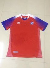Iceland Jersey 2018 World Cup Red Soccer Shirt