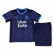 Youth Marseille 20-21 Away Navy Soccer Kids Kit