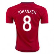 Norway Jersey 2016/17 Home Soccer Shirt #8 Johansen