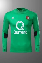 Feyenoord Jersey 2017/18 Green Soccer Training Sweater Suit