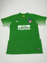Atletico Madrid Jersey 2017/18 Green Goalkeeper Soccer Shirt