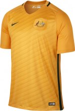 Australia Jerseys 2016-17 Home Yellow Soccer Shirt