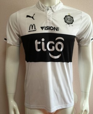 Club Olimpia Jersey 2015/16 Home Soccer Shirt