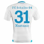Schalke 04 Jersey 2015/16 Away Soccer Shirt #31 Nastasic