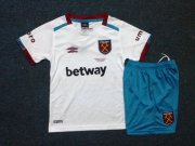 West ham Youth Jersey 2016/17 Away Soccer Shirt Kids Kit