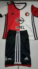 Feyenoord Youth Jersey 2016/17 Home Soccer Shirt Kids Kit