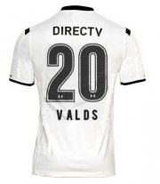 Colo-Colo Jersey 2015/16 Home Soccer Shirt #20 VALDS