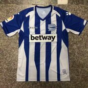 Deportivo Alaves 2018-19 Home Soccer Jersey
