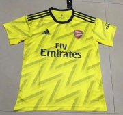 Arsenal 2019-20 Away Yellow Soccer Jersey Shirt
