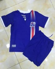 Iceland Youth Jersey 2016/17 Home Soccer Shirt Kids Kit
