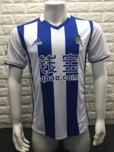 Real Sociedad Jersey 2016/17 Home Soccer Shirt