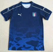 Italy Jersey 2017-18 Blue Soccer Training Shirt