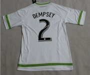 Seattle Sounders Jersey 2015/16 Away Soccer Shirt #2 Dempsey