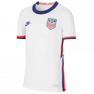 USA 2020 Home White Soccer Jersey Shirt
