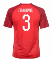 Austria Jerseys 2018-19 Home Soccer Shirt #3 Dragovic