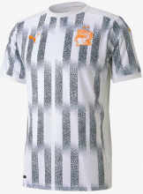 Ivory Coast 2020-21 Away White Soccer Shirt