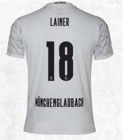 20-21 Borussia Mönchengladbach Home White #18 LAINER Soccer Jersey