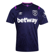 West ham 2019-20 Third Purple Soccer Jersey