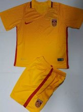 China Youth Jersey 2016/17 Away Soccer Shirt Kids Kits