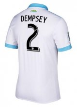 Seattle Sounders Jersey 2017/18 Away Soccer Shirt #2 Dempsey