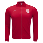 USA Jersey 2017/18 Red Soccer Jacket