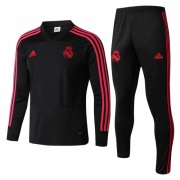Youth 18-19 Real Madrid Black Training Tracksuit
