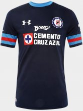 Cruz Azul Jersey 2016/17 Away Black Soccer Shirt