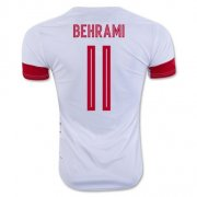 Switzerland Jerseys 2016 Away Soccer Shirt #11 Behrami