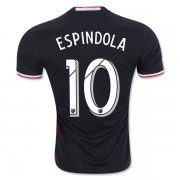 DC United 2016/17 Home Soccer Shirt Jersey #10 ESPINDOLA