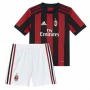 AC Milan Jersey 2017/18 Home Soccer Kids Kit