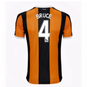 Hull City Jerseys 2016/17 Home Soccer Shirt #4 Bruce